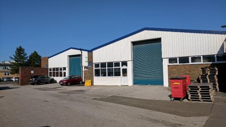 Units G/H Rich Industrial Estate, Avis Way, Newhaven - now let